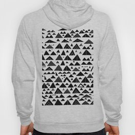 mountains, low hills, tents, trees Hoody