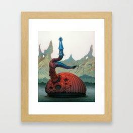 Magwan Flan Framed Art Print