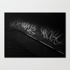 Street Language Canvas Print