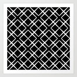 Black + White | No.1 Art Print