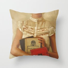 The English Major Throw Pillow