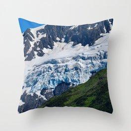 Whittier Glacier - 2 Throw Pillow