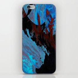 Frozen Vulcano iPhone Skin