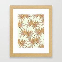MATUCANA IN ECRU Framed Art Print