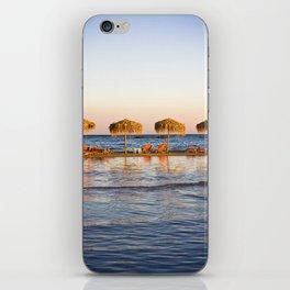 Elafonisi beach iPhone Skin