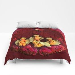 #Christmas Angels Comforters