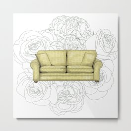 Couch Metal Print