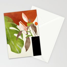 minimal floral autumn Stationery Cards