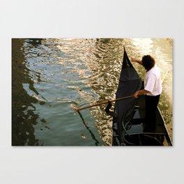 Venetian Waters Canvas Print