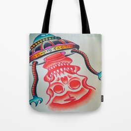 Death Ray From Space Tote Bag