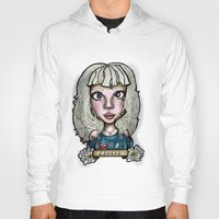 cancer Hoodies featuring Cancer by Gabriela Ash Illustrations