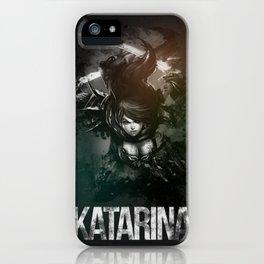 League of Legends Katarina iPhone Case