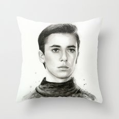 Wesley TNG Throw Pillow