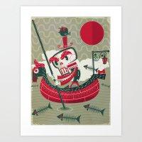 Calaverita Art Print