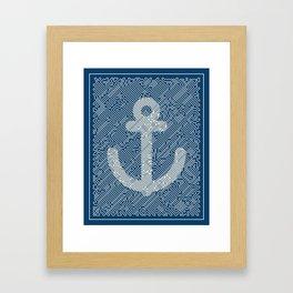 Knot & Anchor Framed Art Print