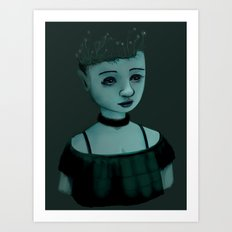 Night Girl II Art Print