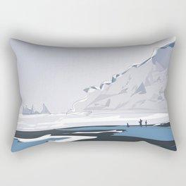 Vik Reynisfjara Black Sand Beach, Iceland Rectangular Pillow