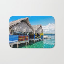 Huts of Panama Bath Mat