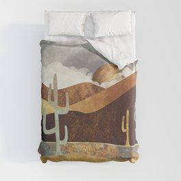 Patina Desert Duvet Cover