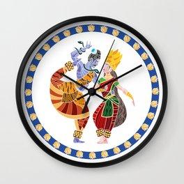 Shiva - Parvati Dance Wall Clock
