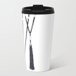 Black Pearls Travel Mug