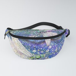 Dragonflies on Dragon's Tears Fanny Pack