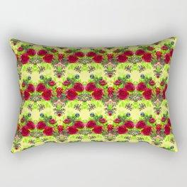 Bed of Roses Rectangular Pillow