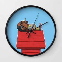 snoop doggy dogg Wall Clock