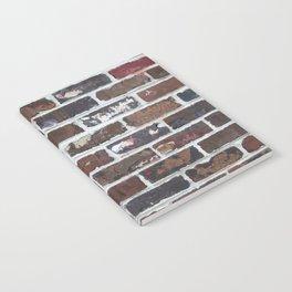 Brick Wall Vertical Notebook