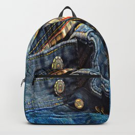 Jeans, Backpack