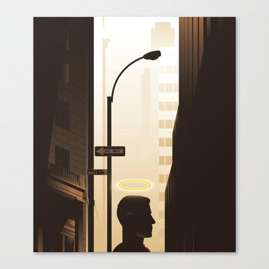 Benevolent Bankers Canvas Print