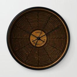 Sam the Record Man Vintage Wall Clock