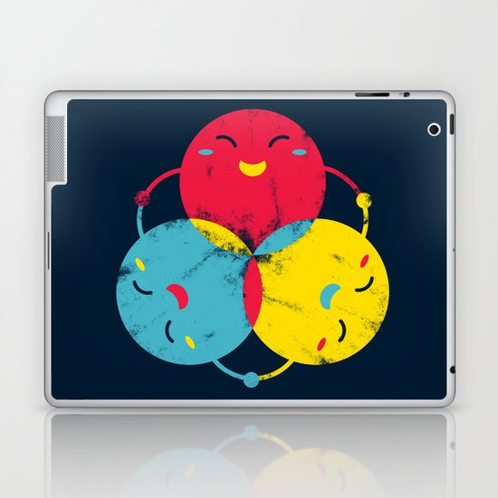 happy together Laptop & iPad Skin