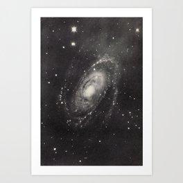 Nebula M81 Ursa Major Art Print