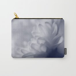 Soft White Flower Carry-All Pouch