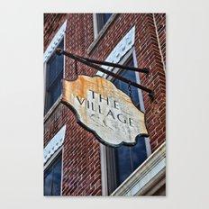 The Village Canvas Print