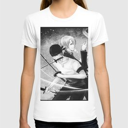One Piece   Sanji Black White T-shirt