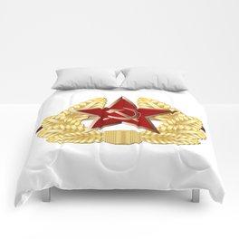 Soviet Cap Badge Comforters