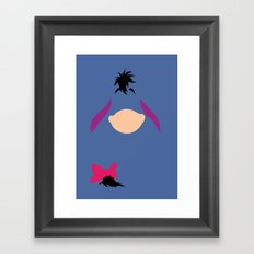 Winnie the Pooh - Eeyore Framed Art Print