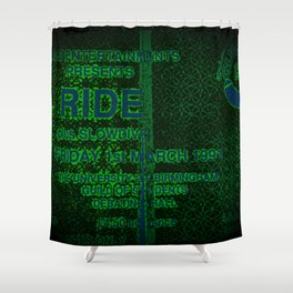 Slow Ticket To Ride Shower Curtain