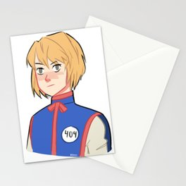 kurapika (hunterxhunter) Stationery Cards