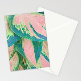 Hosta Multicolor Stationery Cards