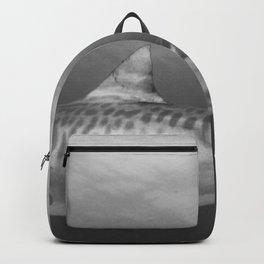 Tiger Shark, Black & White Backpack