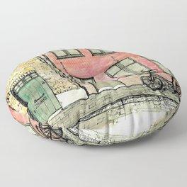 In Bruges Floor Pillow