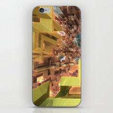 Deco Metro Doors iPhone & iPod Skin