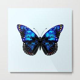 Blue butterfly II Metal Print