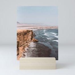The end of the desert Mini Art Print