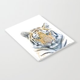 Tiger portrait Notebook