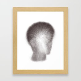 Algorithmic Portrait: Calvin Framed Art Print