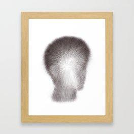 Algorithmic Portrait: Calvin Framed Art Print